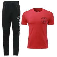 19-20 PSG Red T-Shirt Shirt Kit(Top+Trouser)