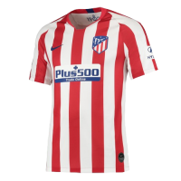 19-20 Atletico Madrid Home Red&White Soccer Jerseys Shirt
