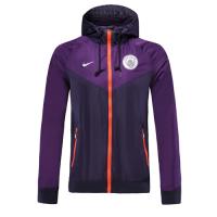 19-20 Manchester City Purple Hoody Jacket