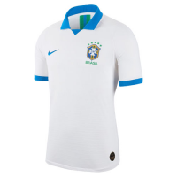 2019 Brazil Away White Soccer Jerseys Shirt