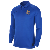 2019 France Home 100-Years Anniversary Long Sleeve Jerseys Shirt