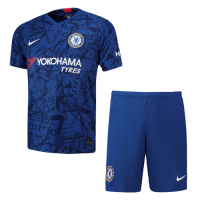 19-20 Chelsea Home Blue Soccer Jerseys Kit(Shirt+Short)