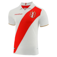2019 Peru Home White Soccer Jerseys Shirt