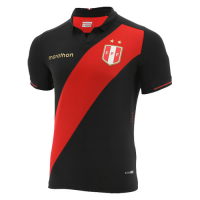 2019 Peru Away Black Soccer Jerseys Shirt