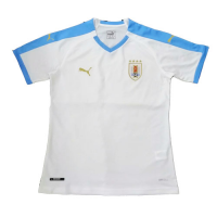2019 Uruguay Away White Soccer Jerseys Shirt