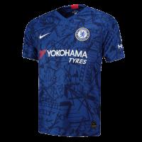 19-20 Chelsea Home Blue Soccer Jerseys Shirt