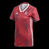 2019 Germany Away Red Women's Jerseys Shirt