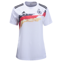 2019 Germany Home White Women's Jerseys Shirt