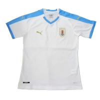 2019 Uruguay Away White Soccer Jerseys Shirt