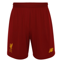 19-20 Liverpool Home Red Soccer Jerseys Short