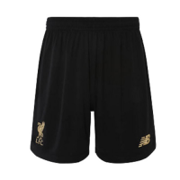 19-20 Liverpool Goalkeeper Black Soccer Jerseys Short