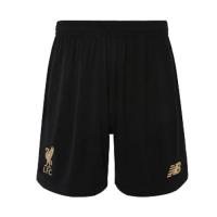 19-20 Liverpool Goalkeeper Black Soccer Jerseys Short