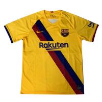 19-20 Barcelona Away Yellow Soccer Jerseys Shirt