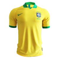 2019 Brazil Home Yellow soccer Jerseys Shirt(Player Version)
