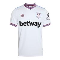 19-20 West Ham United Away White Soccer Jerseys Shirt