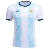 2019  Argentina Home Blue&White Soccer Jerseys Shirt 2019 National Jerseys, Men soccer jersey,Fans soccer jersey, Blue&White jersey, Adidas jersey, Cheap soccer Shirt, Replica,