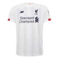 19-20 Liverpool Away White Soccer Jerseys Shirt
