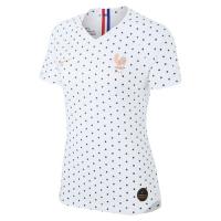 2019 World Cup France Away White Women's Jerseys Shirt