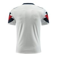 Customize Team Winner White&Navy Soccer Jerseys Kit(Shirt+Short)