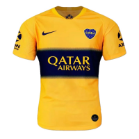 19-20 Boca Juniors Away Yellow Soccer Jerseys Shirt