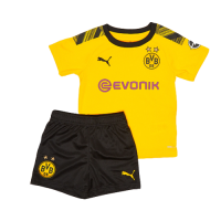 19/20 Borussia Dortmund Home Yellow Children's Jerseys Kit(Shirt+Short)