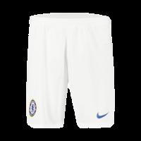 19-20 Chelsea Away White Soccer Jerseys Short