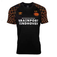 19-20 PSV Eindhoven Away Black&Orange Jerseys Shirt