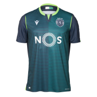 19/20 Sporting Lisbon Away Dark Green Soccer Jerseys Shirt