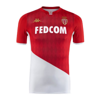 19/20 AS Monaco FC Home Red&White Soccer Jerseys Shirt