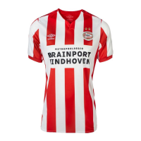 19-20 PSV Eindhoven Home Red&White Jerseys Shirt