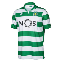 19/20 Sporting Lisbon Home Green&White Soccer Jerseys Shirt