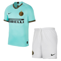 19-20 Inter Milan Away Green Soccer Jerseys Kit(Shirt+Short)
