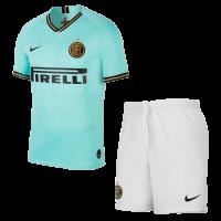 19-20 Inter Milan Away Green Soccer Jerseys Kit(Shirt+Short)