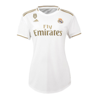 19-20 Real Madrid Home White Women's Jerseys Shirt