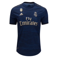 19-20 Real Madrid Away Navy Women's Jerseys Shirt