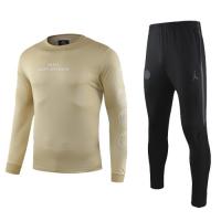 19-20 PSG Khaki Sweat Shirt Kit(Top+Trouser)