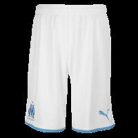 19-20 Marseille Home White Jerseys Kit(Shirt+Short)