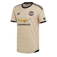 19/20 Manchester United Away Khaki Jerseys Shirt(Player Version)