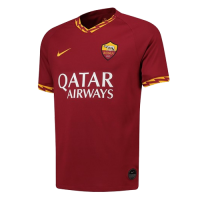 19-20 Roma Home Red Soccer Jerseys Shirt