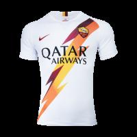 19-20 Roma Away White Soccer Jerseys Shirt(Player Version)