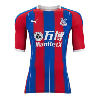 19-20 Crystal Palace Home Soccer Jerseys Shirt