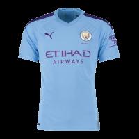 19-20 Manchester City Home Blue Jersey Shirt
