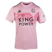 19-20 Leicester City Away Pink Soccer Jerseys Shirt