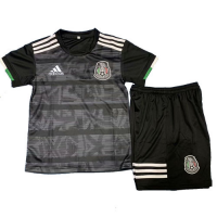 2019 Mexico Home Black Children's Jerseys Kit(Shirt+Short)