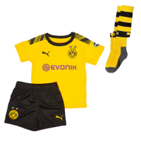 19/20 Borussia Dortmund Home Yellow Children's Jerseys Kit(Shirt+Short+Socks)