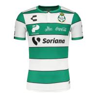 19/20 Santos Laguna Home Green&White Soccer Jerseys Shirt