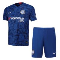 19/20 Chelsea Home Blue Soccer Jerseys Kit(Shirt+Short), Men soccer jersey,Fans soccer jersey, Blue jersey,, Nike jersey, Cheap soccer Shirt, 19-20 Premier League Jersey, Replica,