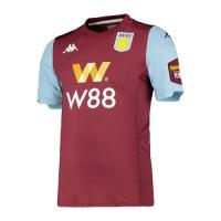 19/20 Aston Villa Home Red&Blue Soccer Jerseys Shirt
