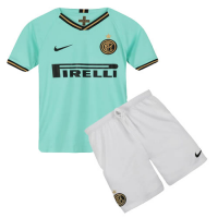 19/20 Inter Milan Away Green Children's Jerseys Kit(Shirt+Short)