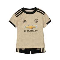 19/20 Manchester United Away Khaki Children's Jerseys Kit(Shirt+Short)